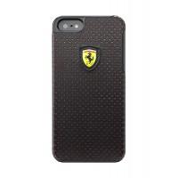 Чехол Ferrari Challenge Case Perforated BLACK для iPhone 5/5S