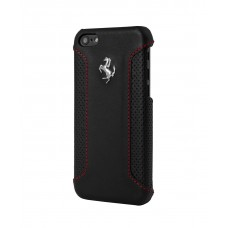 Ferrari F12 Collection Leather Hard Case BLACK для iPhone 5/5S