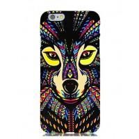 Чехол пластиковый Luxo Funky Animal Aztec Glow In The Dark 3D Собака для iPhone 5/5S/5SE