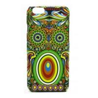 Чехол пластиковый Luxo Funky Animal Aztec Glow In The Dark 3D Сова для iPhone 5/5S/5SE