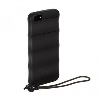 Чехол пластиковый HOCO Cool.Bamboo TPU crystal case Transparent BLACK для iPhone 5/5S