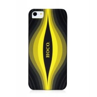 Чехол пластиковый HOCO Cool.Moving Protection Case Aurora BLACK для iPhone 5/5S