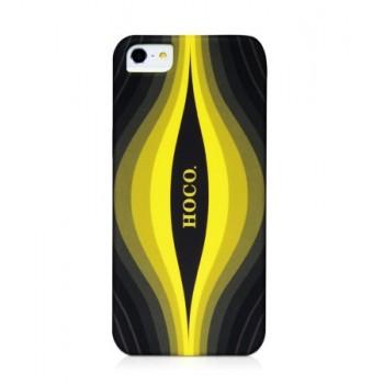 Чехол пластиковый HOCO Cool.Moving Protection Case Aurora BLACK для iPhone 5/5S