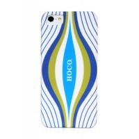 Чехол пластиковый HOCO Cool.Moving Protection Case Aurora WHITE для iPhone 5/5S