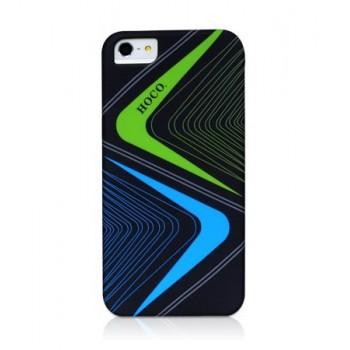 Чехол пластиковый HOCO Cool.Moving Protection Case Lightning BLACK для iPhone 5/5S