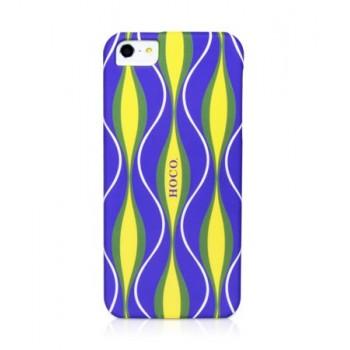 Чехол пластиковый HOCO Cool.Moving Protection Case Melody Motion PURPLE для iPhone 5/5S