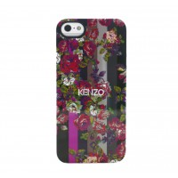 Чехол силиконовый KENZO Exotic Silicone Cover Case Type 1 для iPhone 5/5S