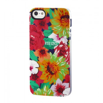 Чехол силиконовый KENZO Exotic Silicone Cover Case Type 10 для iPhone 5/5S