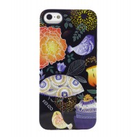 Чехол силиконовый KENZO Exotic Silicone Cover Case Type 2 для iPhone 5/5S