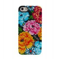 Чехол силиконовый KENZO Exotic Silicone Cover Case Type 3 для iPhone 5/5S