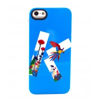 Чехол силиконовый KENZO Exotic Silicone Cover Case Type 4 для iPhone 5/5S