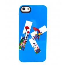 Чехол силиконовый KENZO Exotic Silicone Cover Case Type 4 для iPhone 5/5S