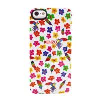 Чехол силиконовый KENZO Exotic Silicone Cover Case Type 5 для iPhone 5/5S