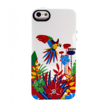Чехол силиконовый KENZO Exotic Silicone Cover Case Type 6 для iPhone 5/5S
