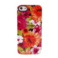 Чехол силиконовый KENZO Exotic Silicone Cover Case Type 7 для iPhone 5/5S