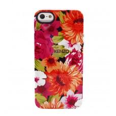 Чехол силиконовый KENZO Exotic Silicone Cover Case Type 7 для iPhone 5/5S