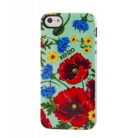 Чехол силиконовый KENZO Exotic Silicone Cover Case Type 9 для iPhone 5/5S