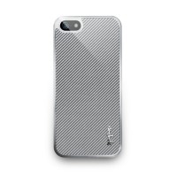 Чехол пластиковый NavJack The Corium Series THISTLE SILVER для iPhone 5
