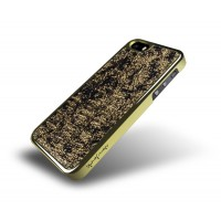 Чехол металлический NavJack The Nebula Series CHAMPAGNE GOLD для iPhone 5/5S