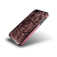 Чехол металлический NavJack The Nebula Series PERSIAN RED для iPhone 5/5S