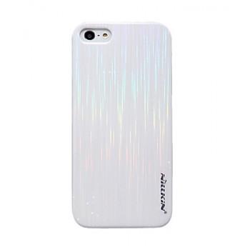 Чехол пластиковый NILLKIN Dynamic Color WHITE для iPhone 5