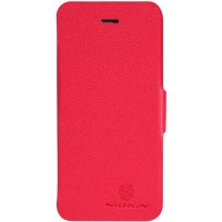 Чехол NILLKIN Fresh Series Leather Case RED для iPhone 5/5S