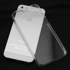 Чехол силиконовый Ultra Thin Transparent Clear Cover Case для iPhone 5/5s/5se