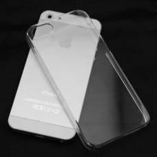 Чехол силиконовый Ultra Thin Transparent Clear Cover Case для iPhone 5/5s/5se