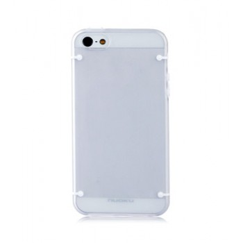 Чехол пластиковый NUOKU JOY Series Dual-tone Soft-touch Cover GREY для iPhone 5