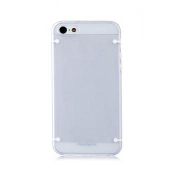 Чехол пластиковый NUOKU JOY Series Dual-tone Soft-touch Cover GREY для iPhone 5