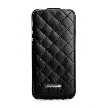 Чехол NUOKU Only Series Exclusive Leather Case BLACK для iPhone 5