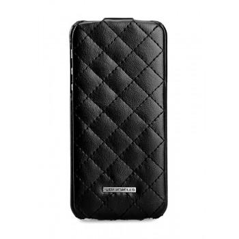 Чехол NUOKU Only Series Exclusive Leather Case BLACK для iPhone 5