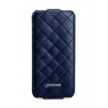 Чехол NUOKU Only Series Exclusive Leather Case BLUE для iPhone 5