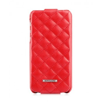 Чехол NUOKU Only Series Exclusive Leather Case RED для iPhone 5