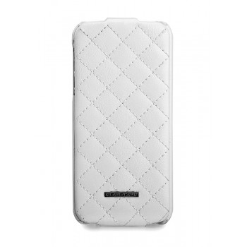 Чехол NUOKU Only Series Exclusive Leather Case WHITE для iPhone 5