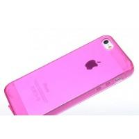 Чехол силиконовый Belkin Opaque Silicone ROSE для iPhone 5