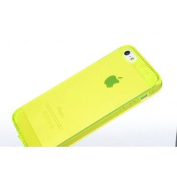 Чехол силиконовый Belkin Opaque Silicone YELLOW для iPhone 5