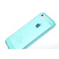 Чехол силиконовый Belkin Opaque Silicone CYAN для iPhone 5