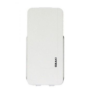Чехол Ozaki O!coat Aim High Clarity White для iPhone 5