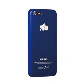 Чехол пластиковый Ozaki O!coat Fruit Blueberry для iPhone 5/5S/5SE