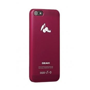 Чехол пластиковый Ozaki O!coat Fruit Cherry для iPhone 5/5S/5SE