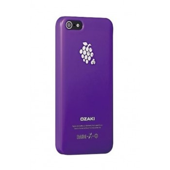Чехол пластиковый Ozaki O!coat Fruit Grape для iPhone 5/5S/5SE