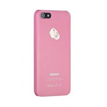 Чехол пластиковый Ozaki O!coat Fruit Peach для iPhone 5/5S/5SE