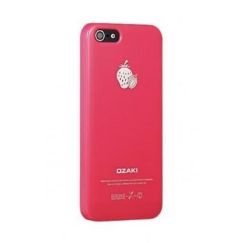 Чехол пластиковый Ozaki O!coat Fruit Strawberry для iPhone 5/5S/5SE