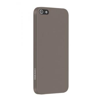 Чехол пластиковый Ozaki O!coat 0.3 Solid LIGHT BROWN для iPhone 5/5S