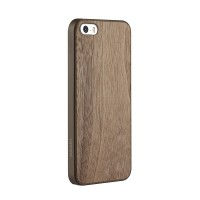 Чехол пластиковый OZAKI O!coat-0.3+Wood WALNUT для iPhone 5/5S
