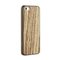 Чехол пластиковый OZAKI O!coat-0.3+Wood ZEBRANO для iPhone 5/5S