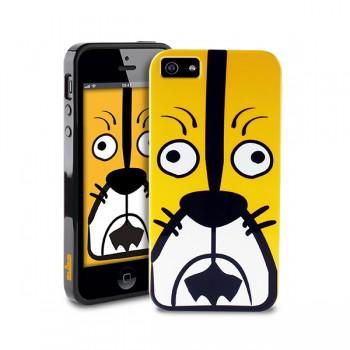 Чехол пластиковый PURO Crazy Zoo Cover TIGER для iPhone 5/5S