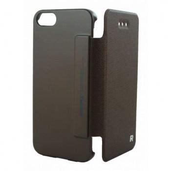 Чехол Remax Leather Case Ice Cream Seriese Brown для iPhone 5