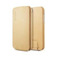 Чехол Spigen Leather Case Argos VINTAGE BROWN для iPhone 5